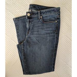 LOFT Modern Skinny Ankle Jeans Medium Wash Sz 31